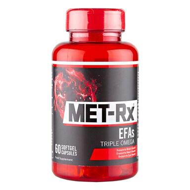 MET-Rx EFA's Triple Omega 60 Softgel Capsules