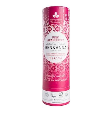 Ben & Anna - Pink Grapefruit Deodorant 60g