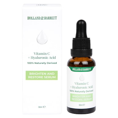 Holland & Barrett Vitamin C + Hyaluronic Acid Serum 30ml