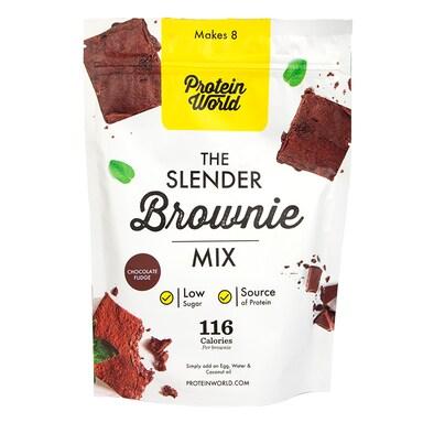 Protein World Slender Baking Brownie Mix Chocolate Flavour 200g