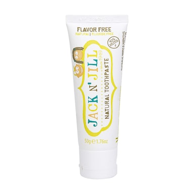 Jack N' Jill Natural Toothpaste Flavour Free 50g