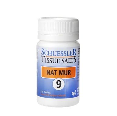 Schuessler Tissue Salts Nat Mur 9 125 Tablets