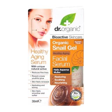 Dr Organic Healthy Ageing Snail Gel Facial Serum 30ml