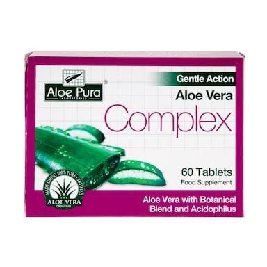 Aloe Pura Organic Aloe Vera Complex 60 Tablets
