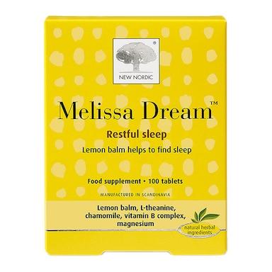 New Nordic Melissa Dream 100 Tablets