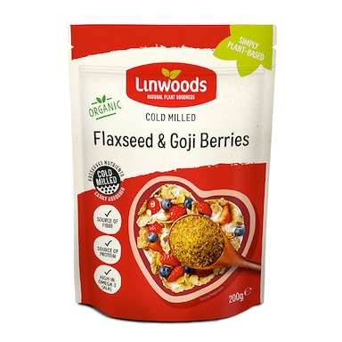 Linwoods Milled Flaxseed & Goji Berries 200g