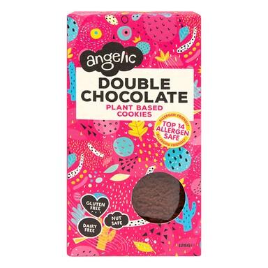 Angelic Double Chocolate Gluten Free Cookie Box 125g