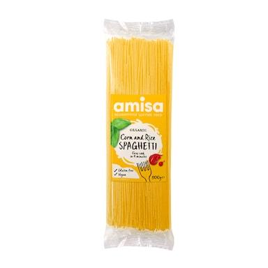 Amisa Organic Corn & Rice Spaghetti 500g
