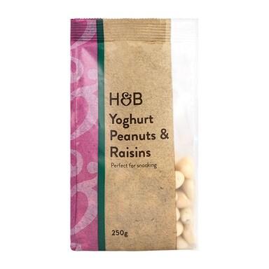 Holland & Barrett Yogurt Peanuts & Raisins 250g
