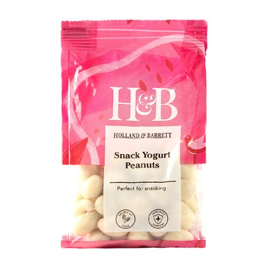 Holland & Barrett Yoghurt Coated Peanuts 100g