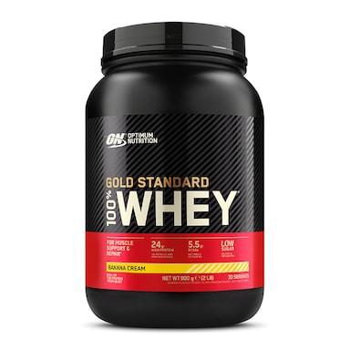 Optimum Nutrition Gold Standard 100% Whey Powder Banana Cream 908g