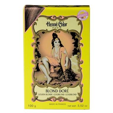 Henne Color Henna Powder Hair Colour Golden Blonde 100g