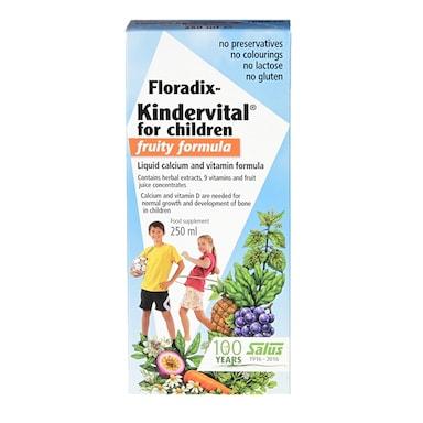 Floradix Kindervital Fruity Multivitamin Formula 250ml