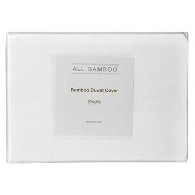 All Bamboo Duvet Cover Single