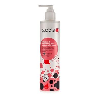Bubble T Hand Cream Hibiscus & Acai Berry Tea 300ml