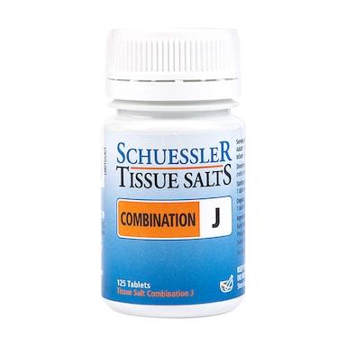 Schuessler Combination J Tissue Salts 125 Tablets