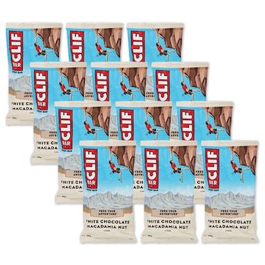 Clif Chocolate & Macadamia Bar 12 x 68g