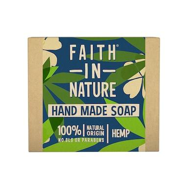 Faith in Nature Hemp with Green Tea Soap 100g