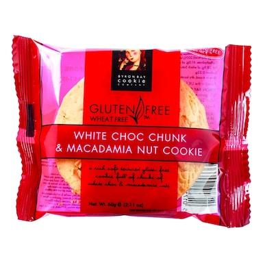Byron Bay White Choc Chunk & Macadamia Nut Cookie 60g