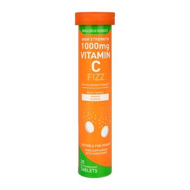 Holland & Barrett Effervescent Vitamin C High Strength 20 Tablets 1000mg