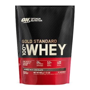 Optimum Nutrition Gold Standard 100% Whey Powder Double Rich Chocolate 450g