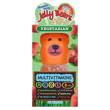 Jelly Bears Multivitamins Fruit Bear 60 Chewables