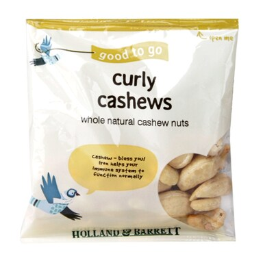 Holland & Barrett Cashew Nuts 40g