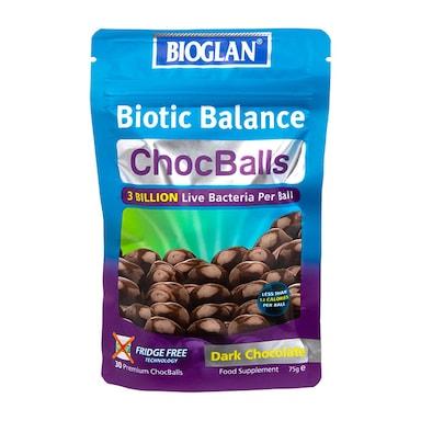 Bioglan Biotic Balance ChocBalls 75g