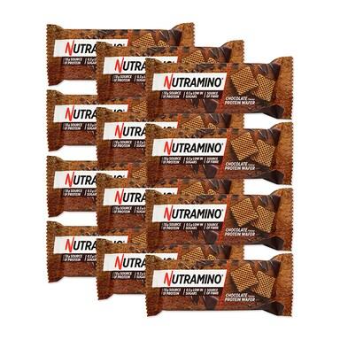 Nutramino Nutra-Go Protein Wafer Chocolate Box 12 x 39g