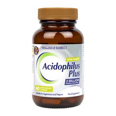 Holland & Barrett Acidophilus Plus Non Dairy 60 Capsules