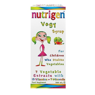 Nutrigen Vegy Syrup 200ml