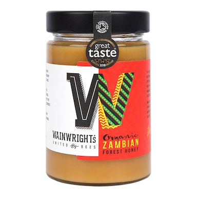 Wainwrights Organic Zambian Forest Honey 380g