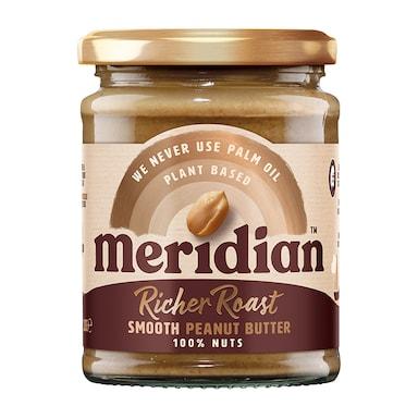 Meridian Deep Roast Smooth Peanut Butter 280g