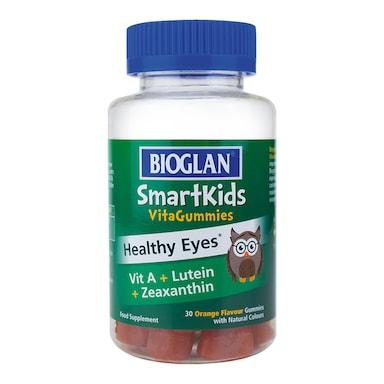 Bioglan SmartKids Healthy Eyes 30 Orange Flavour Gummies