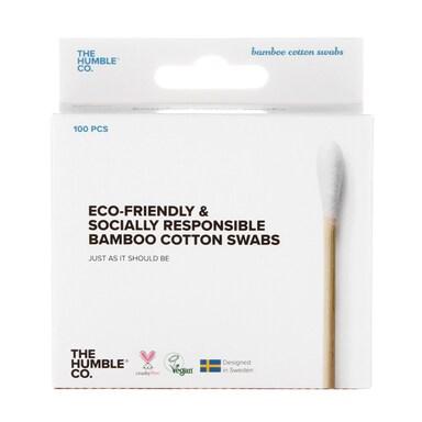 Humble Bamboo Cotton Swabs - White 100pcs