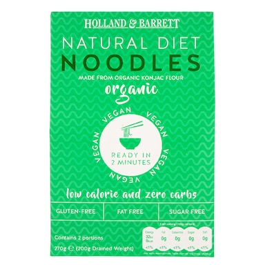 Holland & Barrett Organic Konjac Noodles 270g