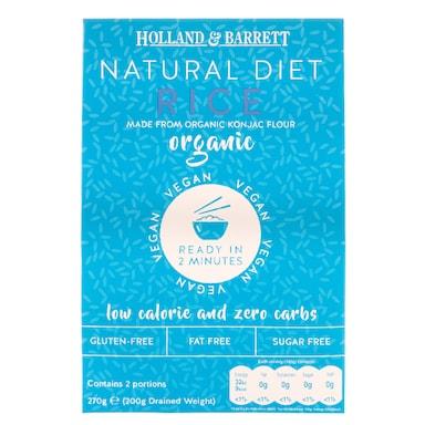 Holland & Barrett Organic Konjac Rice 270g