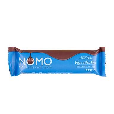 NOMO Vegan Creamy Choc Bar 38g