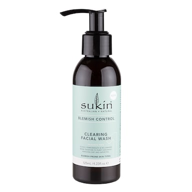 Sukin Blemish Control Clearing Face Wash 125ml