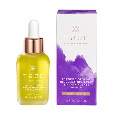 True Skincare Rejuvenating Cacay & Frankincense Facial Oil