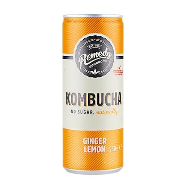 Remedy Ginger Lemon Kombucha 250ml