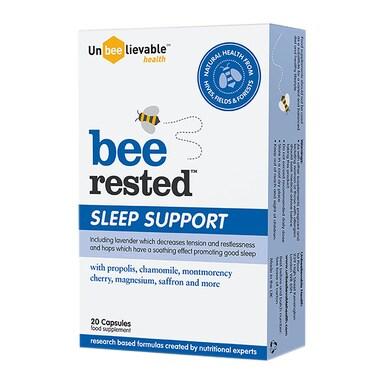 Unbeelievable Health Bee Rested 20 Capsules