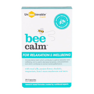 Unbeelievable Health Bee Calm 20 Capsules