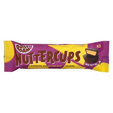 Doisy & Dam Vegan Chocolate Hazelnut Butter Nuttercups 30g