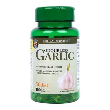 Holland & Barrett Odourless Garlic 500mg 100 Capsules
