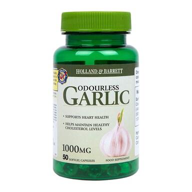 Holland & Barrett Odourless Garlic 1000mg 50 Capsules