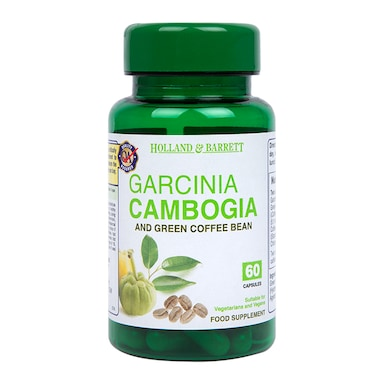 Holland & Barrett Garcinia Cambogia & Green Coffee Bean 60 Capsules
