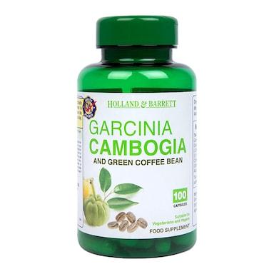 Holland & Barrett Garcinia Cambogia & Green Coffee Bean 100 Capsules