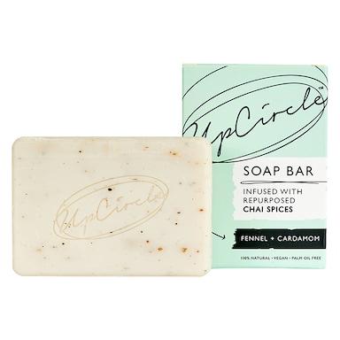 UpCircle Fennel & Cardamom Chai Soap Bar 100g