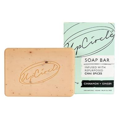 UpCircle Cinnamon & Ginger Chai Soap Bar 100g